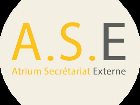 Nouveau site ATRIUM SECRETARIAT EXTERNE