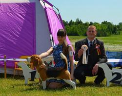 Junior club winner, Moletai, Lithuania,