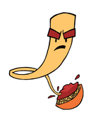 The Angry Noodle Logo