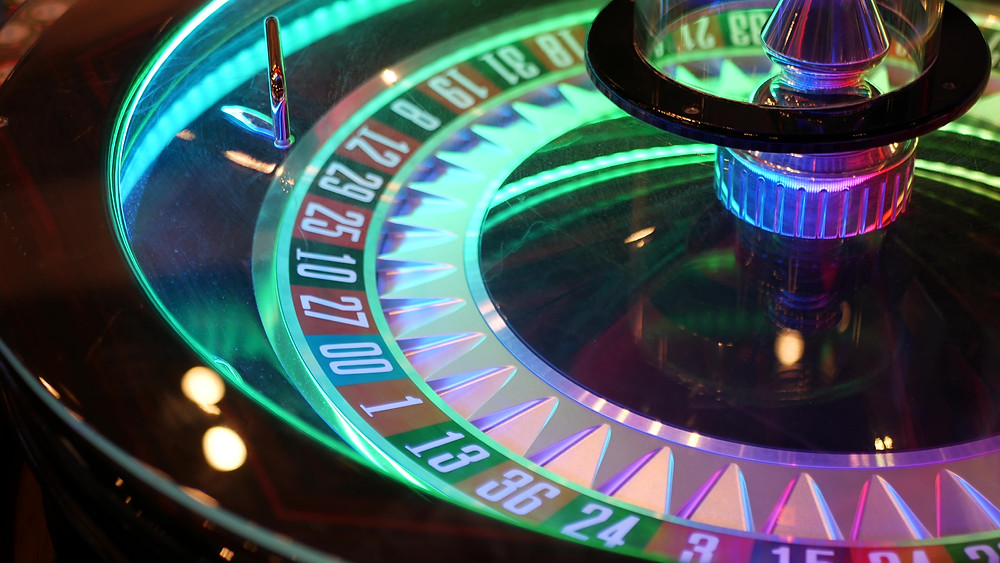 French-style roulette table