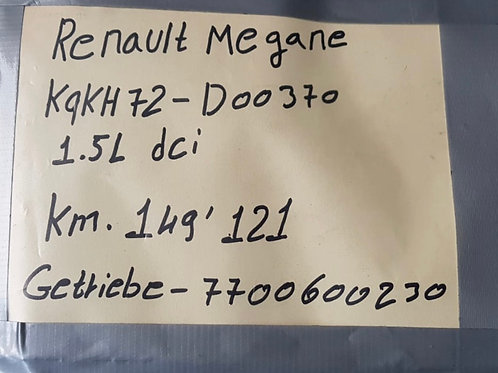 Getriebe Renault  Megane 7700600230