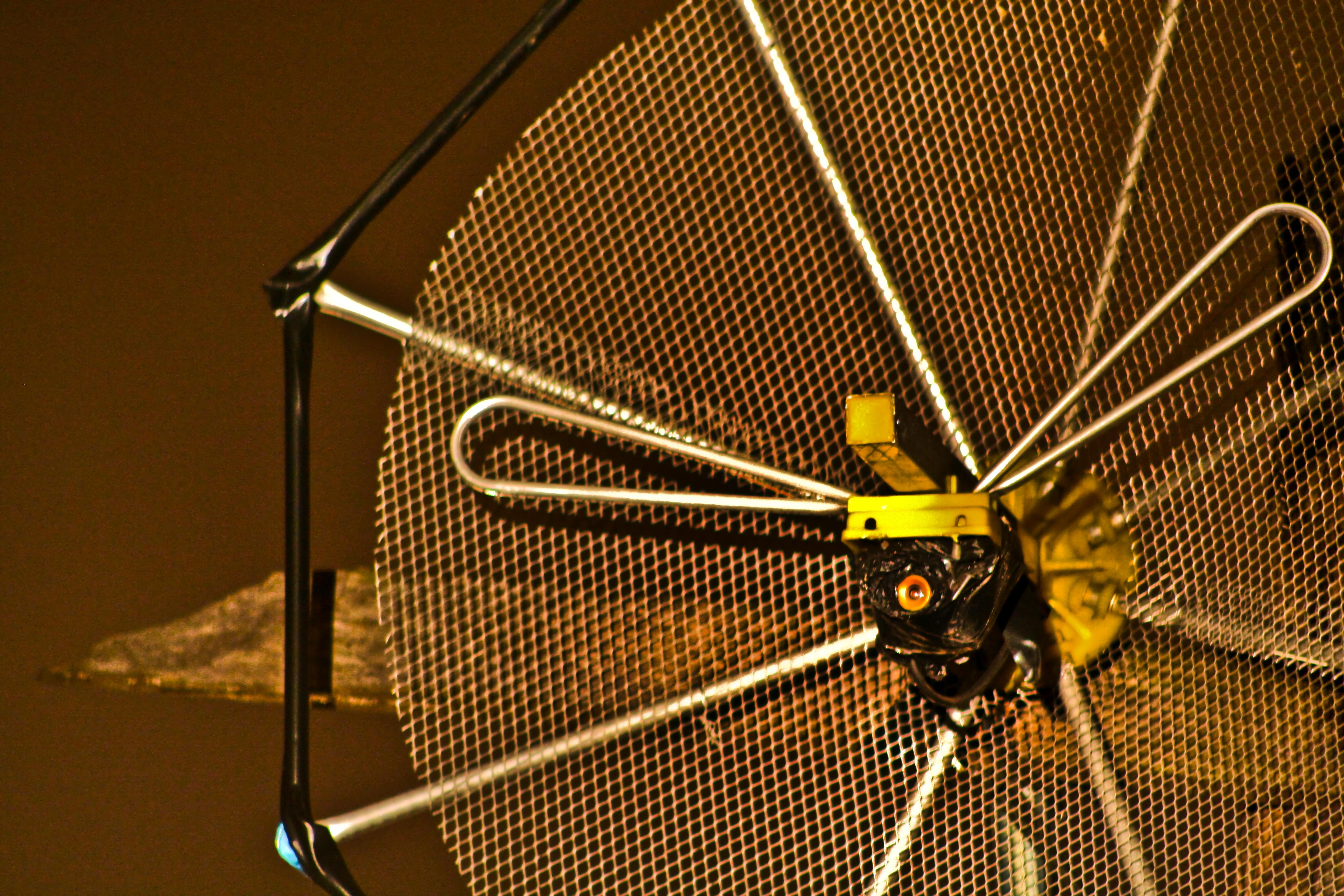 Micro-Câmera camuflada em antena