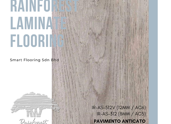RAINFOREST Laminate Flooring (IR-AS-312/8mm/AC5) (IR-AS-512V/12mm/AC6/V)