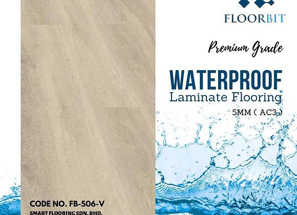 FLOORBIT Waterproof Wooden Laminate Flooring 5mm Premium Grade (FB-506-V)