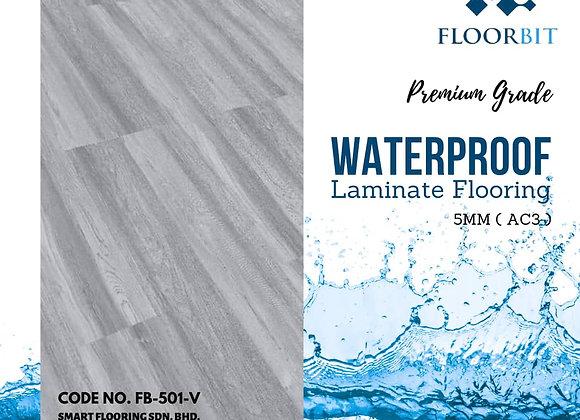 FLOORBIT Waterproof Wooden Laminate Flooring 5mm Premium Grade (FB-501-V)