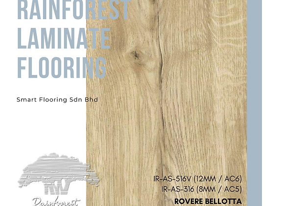 RAINFOREST Laminate Flooring (IR-AS-316/8mm/AC5) (IR-AS-516V/12mm/AC6/V)