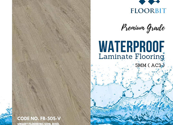 FLOORBIT Waterproof Wooden Laminate Flooring 5mm Premium Grade (FB-505-V)