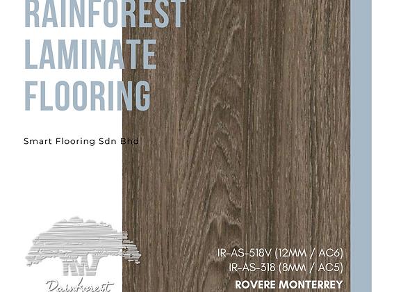 RAINFOREST Laminate Flooring (IR-AS-318/8mm/AC5) (IR-AS-518V/12mm/AC6/V)