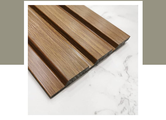 Wall Panel DIY 100% Waterproof - WP-9623-Teak (2700mm L)