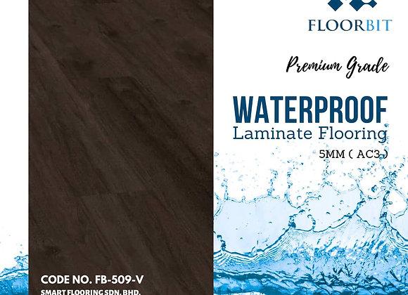 FLOORBIT Waterproof Wooden Laminate Flooring 5mm Premium Grade (FB-509-V)