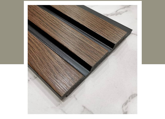 Wall Panel DIY 100% Waterproof - WP-9623B-Walnut (2700mm L)
