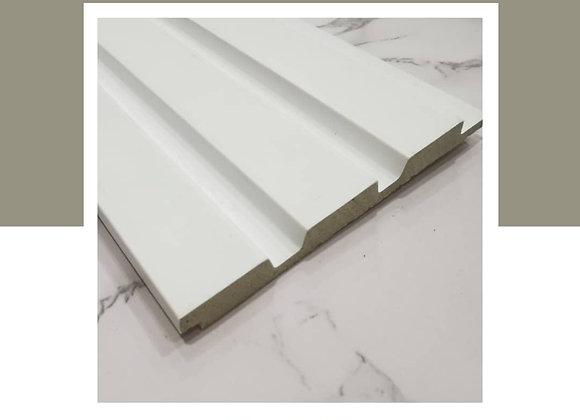 Wall Panel DIY 100% Waterproof - WP-9623-White (2700mm L)