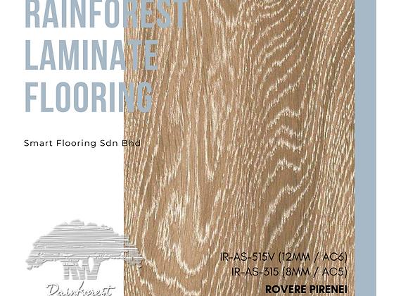 RAINFOREST Laminate Flooring (IR-AS-315/8mm/AC5) (IR-AS-515V/12mm/AC6/V)