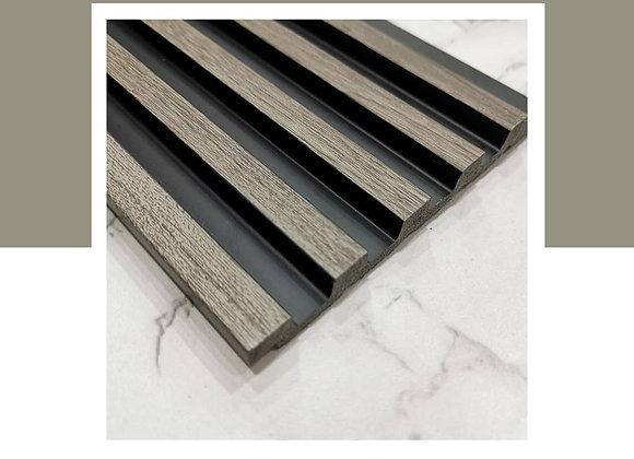 Wall Panel DIY 100% Waterproof - WP-9715B-Grey Wood (2700mm L)