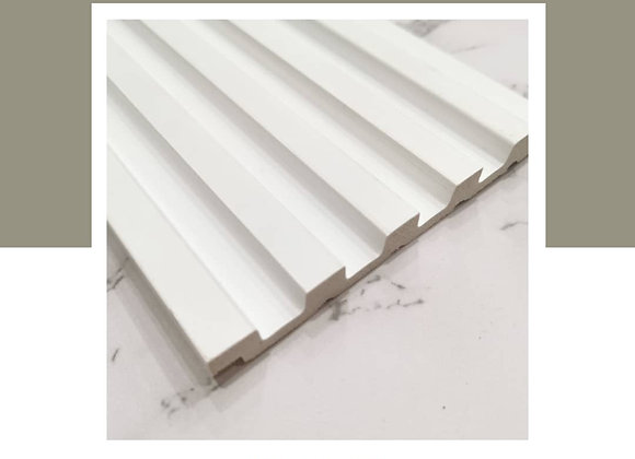 Wall Panel DIY 100% Waterproof - WP-9715-White (2700mm L)