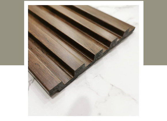 Wall Panel DIY 100% Waterproof - WP-9715-Teak (2700mm L)