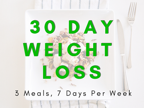 30 Day Keto Package