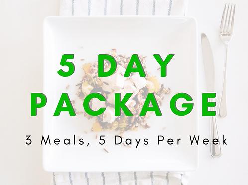 5 DAY - KETO BREAKFAST / LUNCH / DINNER