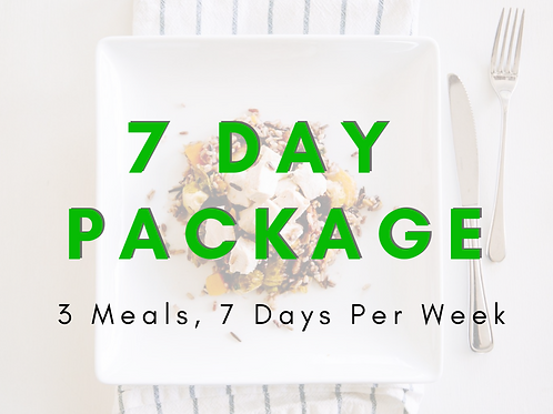 7 DAYS - KETO BREAKFAST / LUNCH / DINNER