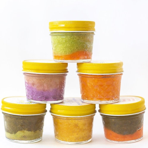 6 Organic Jars