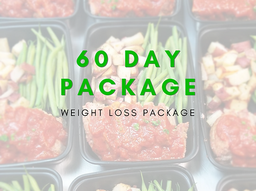 8 Week Weight Loss Package