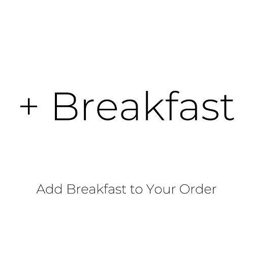 Breakfast Add On