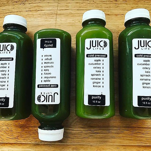 Purify Juice Pack (Five 8 oz Juices)