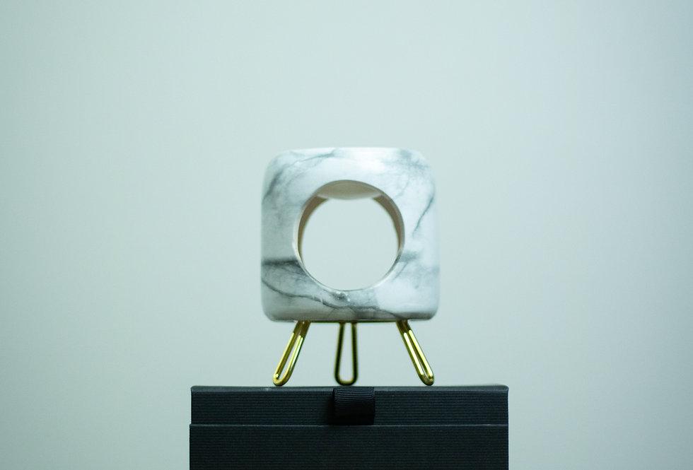 Round Ceramic Wax Melters