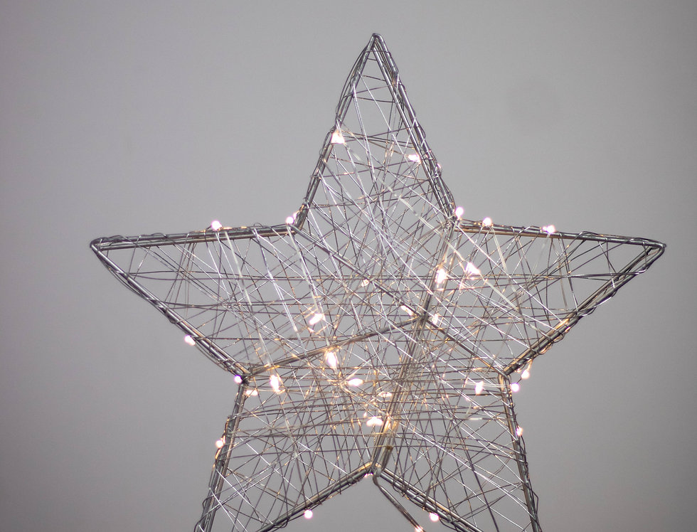 Star metal wire LED