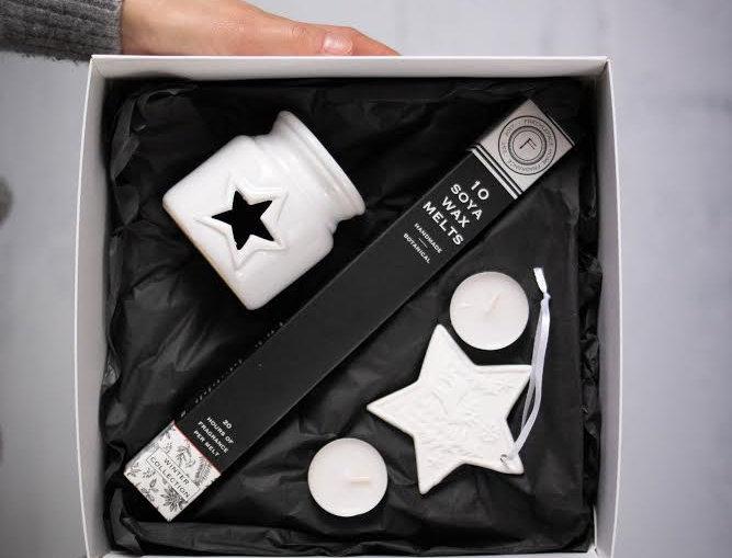Winter Wax Melter Gift Set