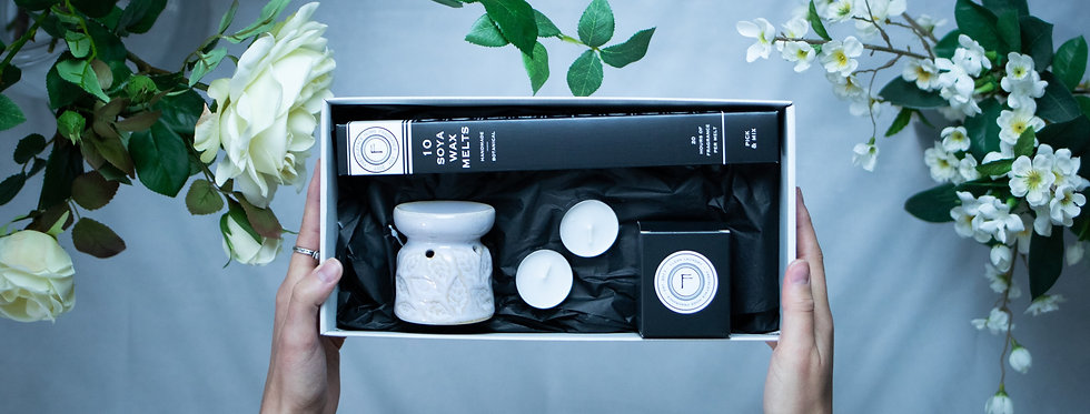 Wax Melter & Candle Gift Set