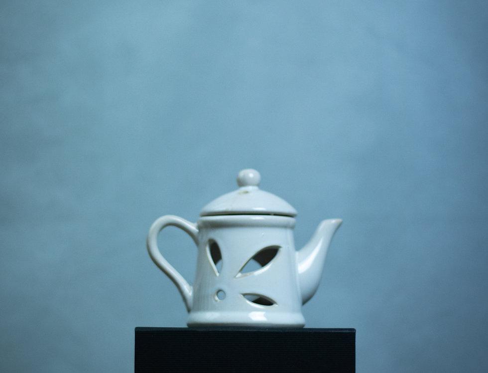 Rustic Teapot Wax Melter