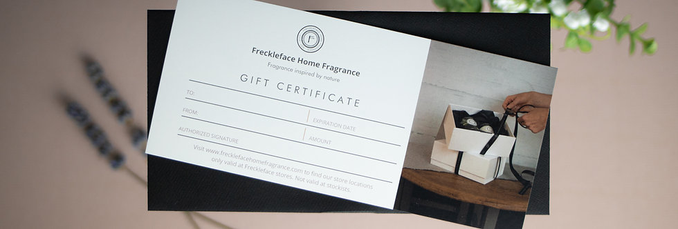 Gift Certificate - Redeemable In Store Only