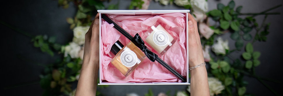 Mother's Day Diffuser & Mini Candle Gift Set
