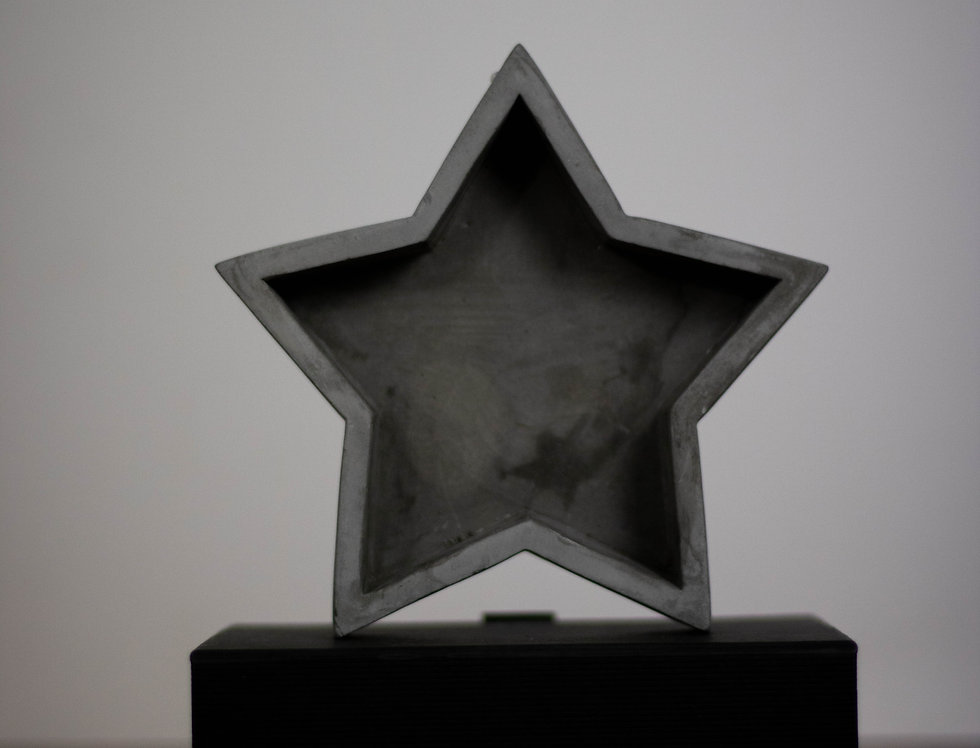 Star cement tray