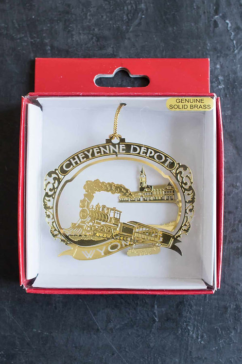 Cheyenne Depot Ornament