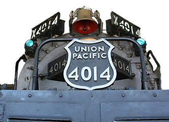 Big Boy 4014, Steam Engine, Locomotive