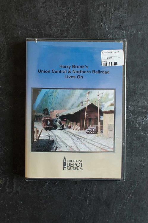 Harry Brunk's UC&N Railroad Lives On (DVD)