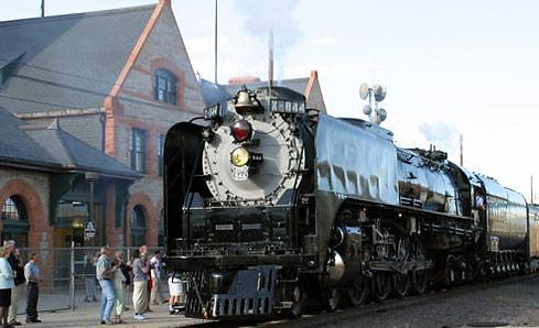 Challenger 844, Steam Engine, Locomotive