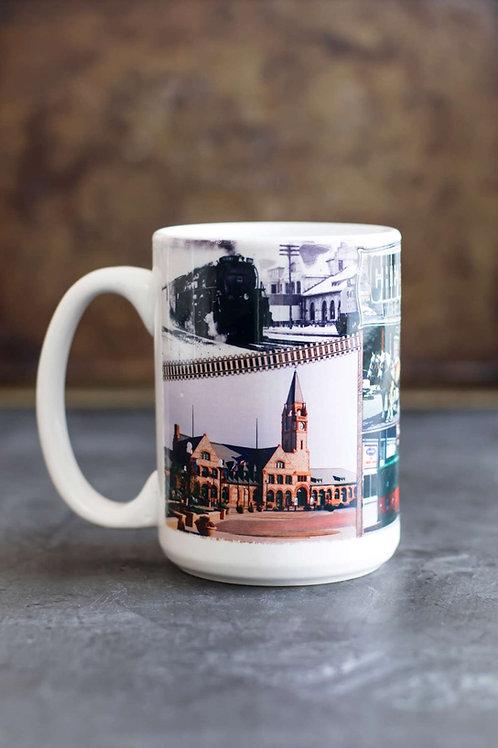Cheyenne Collage Mug