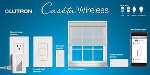 Lutron Caseta wireless smart home automation
