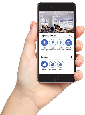 Lutron Caeta wireless smart hom app