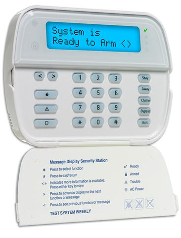 DSC alarm keypad Gallagher Electric, Inc. proudly sell and install DSC burglar alrm systems for you home and office. We offer affordable 24 hour alarm monitoring service