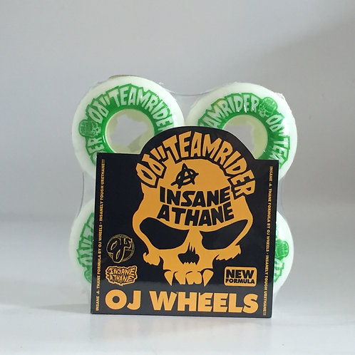 OJ Wheels Insaneathane Team Rider EZ Edge 101A