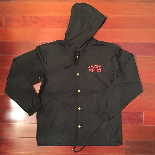 Splatter logo Hooded Coach's Jacket