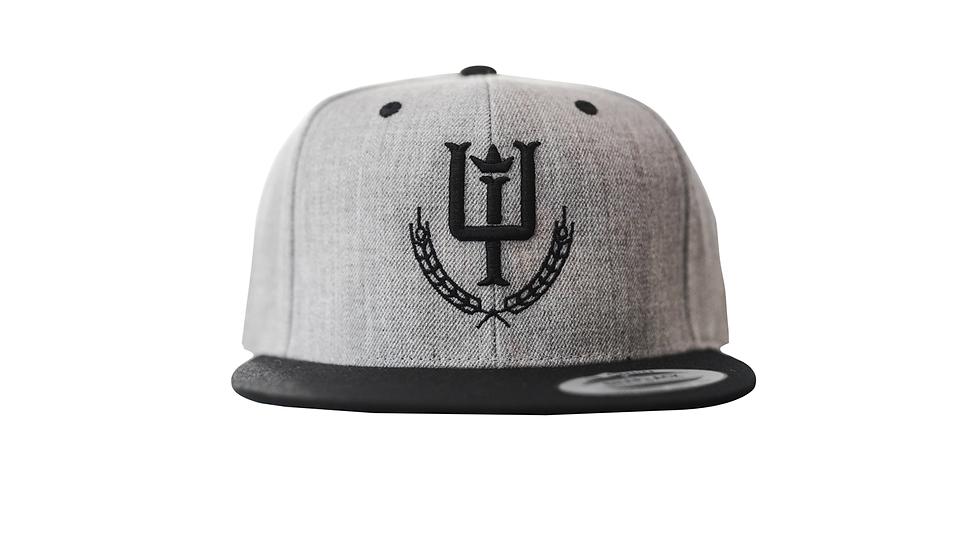 Grey Logo Snapback