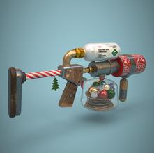 Xmas gun