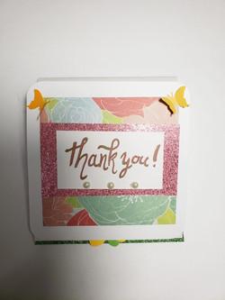 Thank You Fold Card