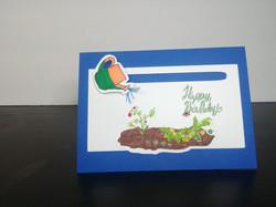 Happy Birthday Sliding Card