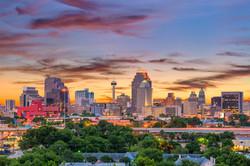 San Antonio, Texas, USA downtown skyline